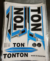 TON RESERVE EDITION BLUE CRICKET BAT STICKER. BUY ONE GET ONE FREE LIMITED OFFER