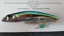 1 Yo-Zuri Mag Darter Floating Hologram Green Mackerel Color HGM  1oz.