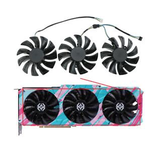Fans For ZOTAC GeForce RTX 3090 3080 3070 3060 Ti X-GAMING GPU Card Cooling Fan