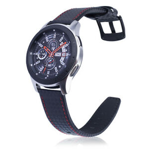 Genuine Leather Strap Wristband Belt For Samsung Gear S3 Frontier Classic 22mm