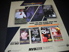 URBAN WORKS 2001 Promo Poster Ad STEVE HARVEY Ruff Ryders DEF JAM COMEDY others