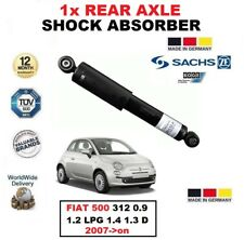 para Fiat 500 312 0.9 1.2 LPG 1.4 1.3 D 2007-on 1x SACHS Amortiguador de eje