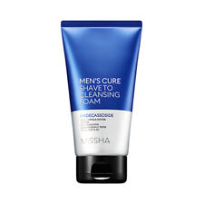 [MISSHA] Men's Cure Shave to Cleansing Foam - 150ml