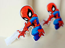 """#5021 Spider-Man Far From Home Avengers Chibi Anime Comics 4x4"""" Decal sticker"""
