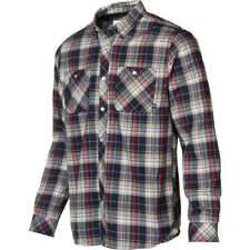 Analog Balance ATF Flannel Shirt - Men's Size XS Blue Plaid - Snowboard Burton