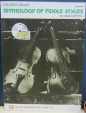 MEL BAY DELUXE ANTHOLOGY OF FIDDLE STYLES book with CD