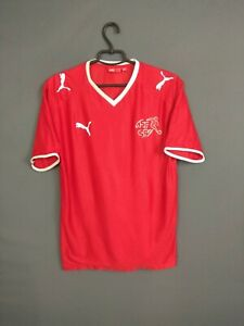 Switzerland Jersey 2008/10 Home Boys Youth XXL Shirt Trikot Football Puma ig93