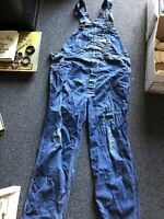 Vintage 1960s Power House Bib Overalls XL