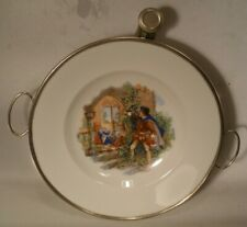 Vintage Heated Baby Dish with Sleeping Beauty Scene