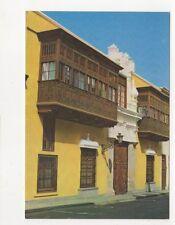 Case de Goyeneche Lima Peru Postcard 781a