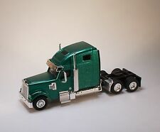 HO 1/87 TSH # 203 Freightliner Coronado HighRoof Tandem Axle Tractor - Green