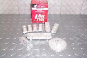 Mercury Marine Verado L6 225 250 275 300 Outboard Aluminum Anode Kit   8M0126671