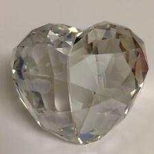 New In Box Swarovski Love Heart, Crystal Silver Shade, Medium 1096729