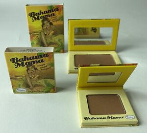theBalm Cosmetics Bahama Mama Bronzer Shadow Contour Power Choose Size