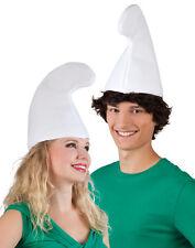 Weiße Zwergen Mütze für Damen und Herren NEU - Karneval Fasching Hut Mütze Kopfb