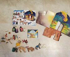 Playmobil #5719 Christmas Nativity Set Retired Complete - RARE - NO BOX