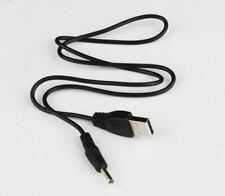 USB 2.0 to 5.5mm Barrel Jack Male DC 5v Power Supply Charger Adapter Cable Black