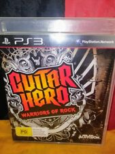 Guitar Hero: Warriors of Rock - Sony PS3 PAL - Manual Included