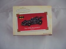 Hallmark Keepsake Batman années 1990 Batmobile Die-Cast Arbre de Noël Ornement