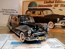 Danbury Mint 1949 Oldsmobile 88 Station Wagon.Rare Le.1:24.Docs.Undisplayed