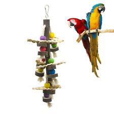 Colorful Practical Creative Wooden Climbing Toy Bite Plaything for Bird Parrot