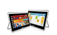 "Nabi Big Tab HD 20"" Tablet PC NV20A 16GB  2GB RAM White Silver"