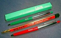 Lot of 3 vintage pens advertising cigarettes SALEM WINSTON KENT