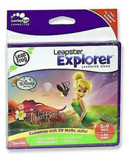 LeapFrog Leapster Explorer Learning Game Disney Pixar TINKERBELL - NEW & SEALED