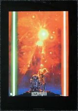 STAR WARS REPRO 1983 RETURN OF THE JEDI A3 FILM MOVIE POSTER b . NOT DVD