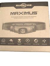 Brand New Surefire Maximus HS3-A-BK LED Headlamp