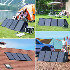 100W Portable Solar Panel Charger For Laptop iPhone iPad Power Station Generator