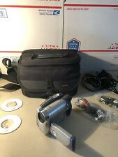 Canon Dvd Camcorder Dc210 with 35X Optical Zoom w/ Charger Tested With Disks