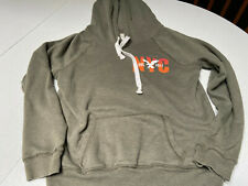 American Eagle NYC Women's Pullover Hooded Sweatshirt/Hoodie, Green, Size M