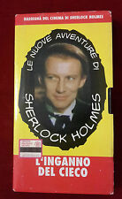 CS4> FILM VHS SHERLOCK HOLMES - L'INGANNO DEL CIECO