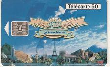 France télécarte 50 France Télécom partenaire officiel EURO DISNEY