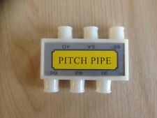 Unbranded Pitch Pipe Tuner For Guitar with Six Notes E A D G B E Guitar Tuning