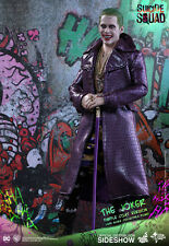 "Suicide Squad Joker Purple Coat ver. 1/6 scale 12"" figure Hot Toys U.S. seller"