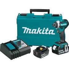 Makita XDT14M 18V LXT Brushless Cordless 3_Speed Impact Driver Kit (4.0Ah)