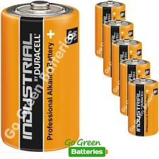 6 x Duracell D Size Industrial Alkaline Batteries LR20 Cell MN1300 Mono Procell