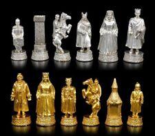Schachfiguren Set - Siegfried und die Nibelungen - Fantasy Ritter Schach Spiel