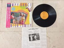 NEWTON FAMILY-JUMPY DANCE-1983-JAPAN-ONE INLAY AND OBI STRIP INCLUDED-LP-MINT-