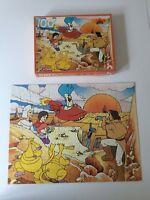☻ Ancien Puzzle Les Mondes Engloutis Nathan 100 Pièces Complet