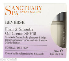 Sanctuary Spa Reverse FIRM & SMOOTH Oil Creme SPF15 Normal/Dry Skin 50ml