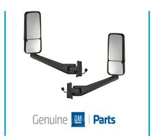 GM Exterior Right Left Side View Dual Glass Mirror Set 2003-09 Kodiak Topkick