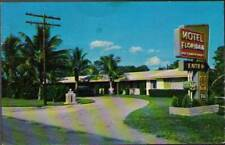 (u3b) Fort Myers FL: Motel Floridan