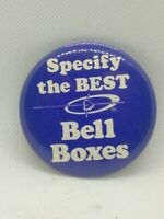 Vintage Pin Button Specify the Best Bell Boxes