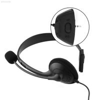 89DB Headset Earphone Headphone Black W/MIC For Xbox 360 Live Xbox360 Comfortabl