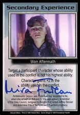 Babylon 5 Ccg Mira Furlan Deluxe Edition Secondary Experience Autographed