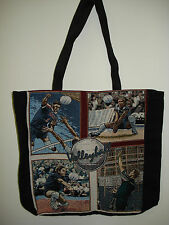 New Mill Street Design Tapestry Canvas Tote Bag Volleyball