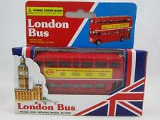 London Double Decker Tour Transport Bus Thomas Benacci UK Moving Wheels NIB